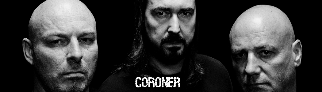 CORONER Re-Releases First Three Albums!